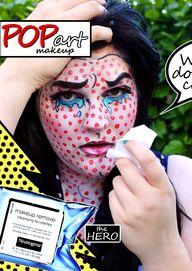 Pop Art Costume Make