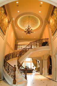Beautiful foyer and