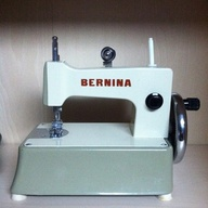 a toy Bernina from t