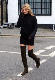 Sweater Dress & Thig