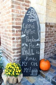 Decorating for Fall-