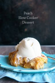 Peach Slow Cooker De