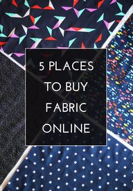 5 Places to buy Fabr