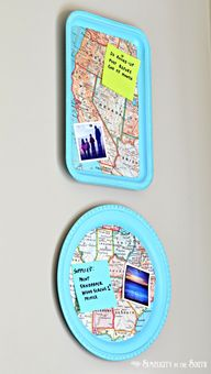 Magnetic Map Trays m