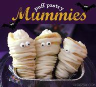 Puff Pastry Mummies