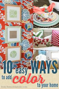 10 Ways to Add Color