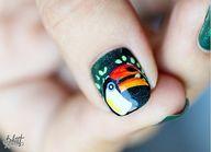 Toucan Nails