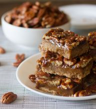 Salted Pecan Pie Bar