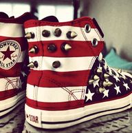 D.I.Y. Converse by @