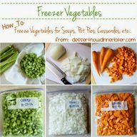 Freezer Vegetables -