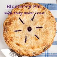 Blueberry Pie with F