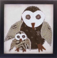 Applique Owls <3