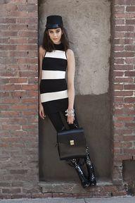Set Stripe Dress (ht