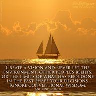 Create a vision... #