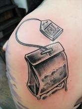 Tea Tattoo by Tine D