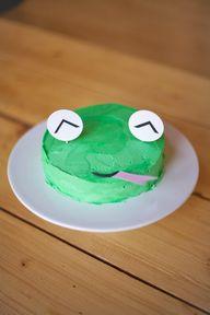 DIY Froggy Cake Deco