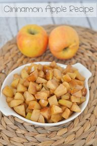Cinnamon Apple Recip