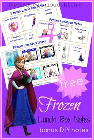 Super FUN Frozen lun