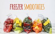 Easy freezer smoothi
