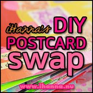 DIY Postcard Swap op