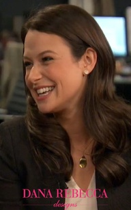 Katie Lowes wears ro