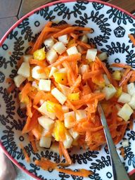 Jicama Carrot and Ma