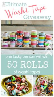 win 50 rolls of wash