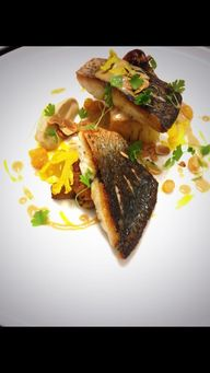 Bass, cauliflower, g