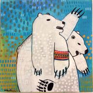 Polar Bear Painting
