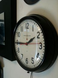 school clock..we can