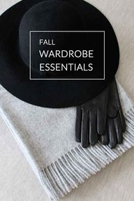 fall must-haves.