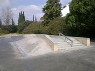 Skate park in Gibral