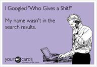 "I Google ""Who Gives"