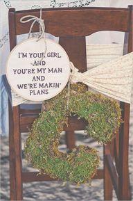 monogram bride chair...