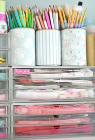 Organized Supplies