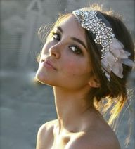 Boho chic headpiece