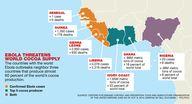 Ebola threatens choc