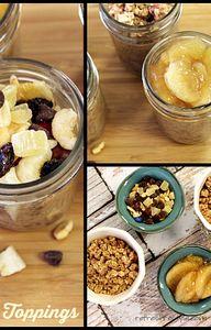 Mason Jar Oatmeal -