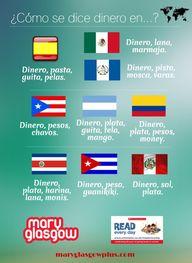 Money in Spanish spe