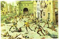 Le massacre de la Sa