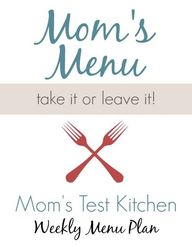 Mom's Test Kitchen W