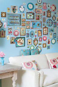 DIY kitsch collages