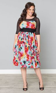 Fall Florals in Plus