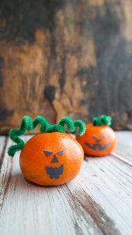 Jack-O-Lantern craft