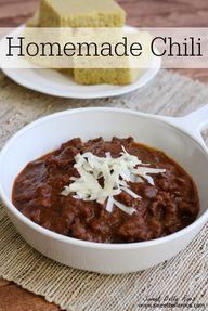 Homemade Chili- perf