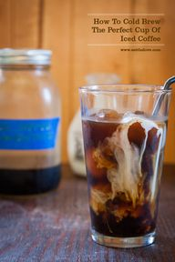 Cold Brew Coffee Rec