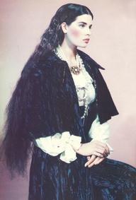 British Vogue 1985- Selene perfect