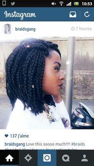 Box braids bob..♥...
