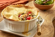 Asian Pork pot pie...