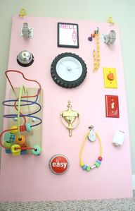 DIY Sensory Board -